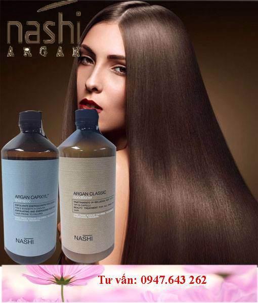 Dầu gội chống rụng tóc Nashi Argan 1000ml