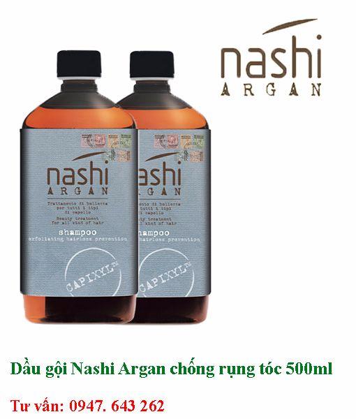 Dầu gội chống rụng tóc Nashi Argan